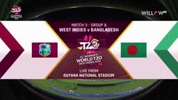West Indies Women vs Bangladesh Women, ICC Womens World T20 2018 3rd Match Highlights - November 9th, 2018 - 11/09/2018